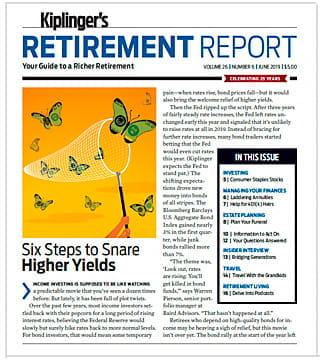 Cover of the June 2019 Kiplinger's Retirement Report